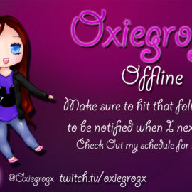 WorldOfMadness Designs new Offline Screen for Oxiegrogx