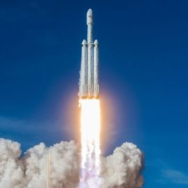 Space X Falcon Heavy Triple successful landing of all boosters